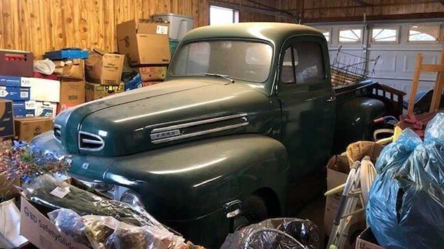 1950 Ford F1 Barn Find Carries High Asking Price