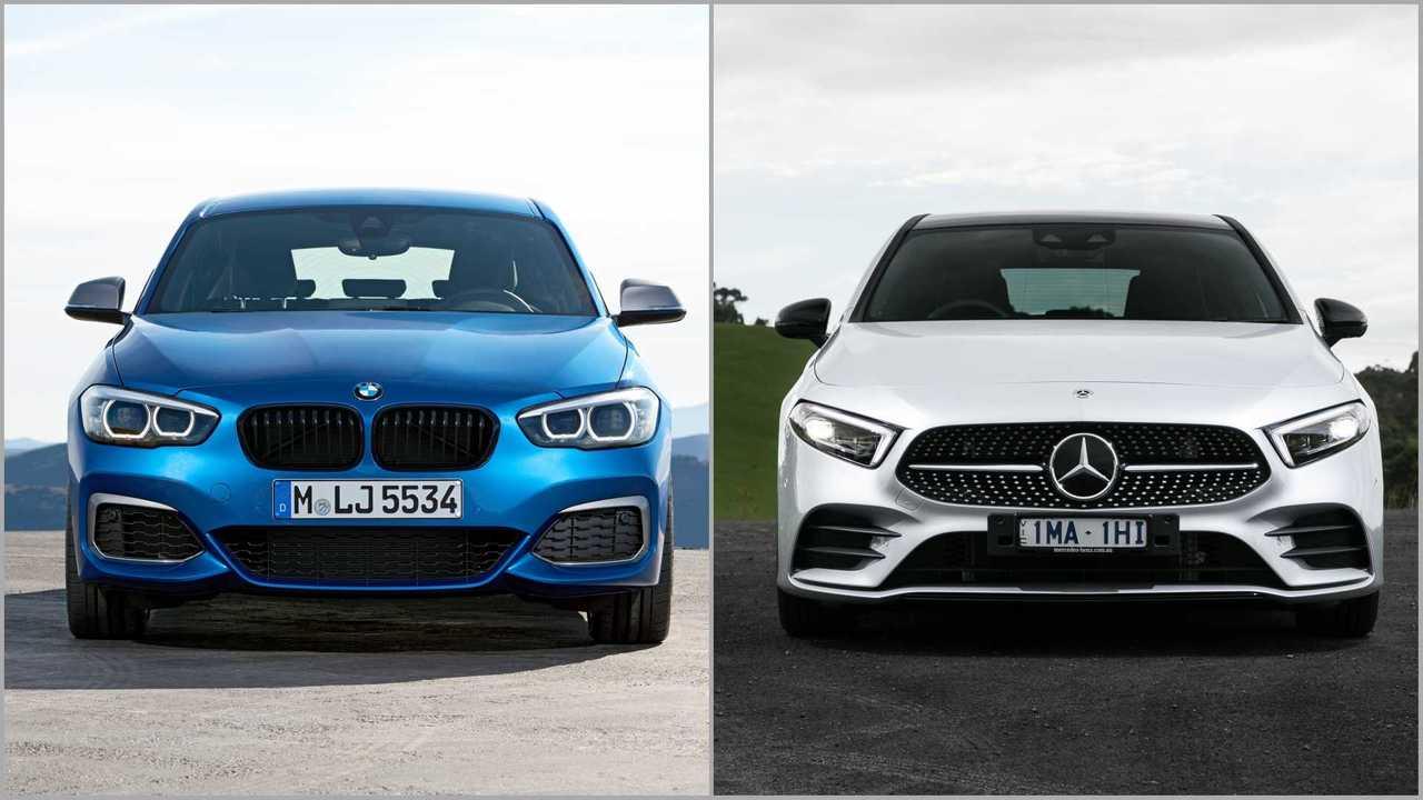 BMW Série 1 vs Mercedes Classe A