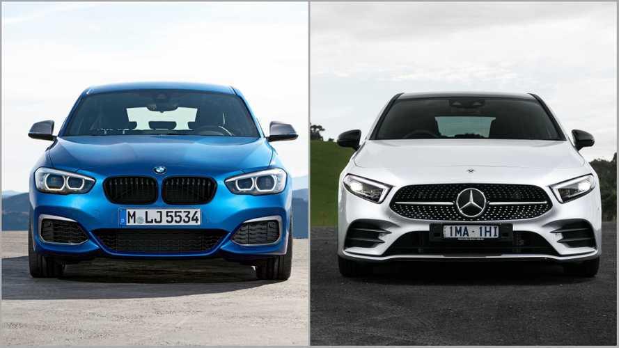 BMW e Mercedes podem se unir para fazer próximos Série 1 e Classe A