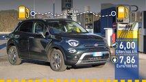 Tatsächlicher Verbrauch: Fiat 500X 1.3 Turbo im Test