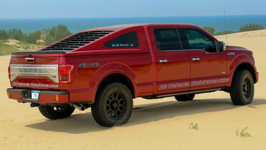 Michigan Vehicle Solutions'un Ford F-150 Pick-up'lara Mustang Görünümü Getiren Kasa Tasarımı