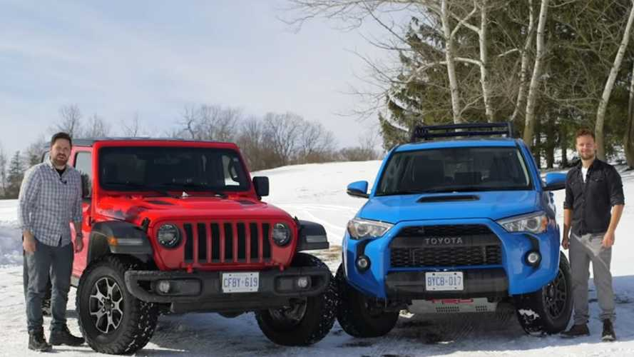 Jeep Wrangler Rubicon Vs Toyota 4Runner TRD Pro: The Showdown