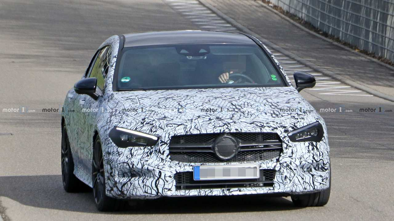 Mercedes-AMG CLA 35 Shooting Brake spy photo