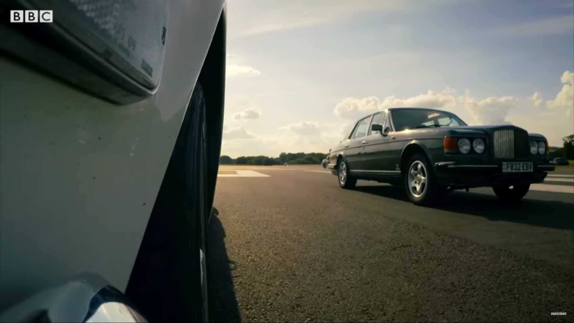Top Gear Hands-Off Drag Race Redefines The Term 'Near Miss'