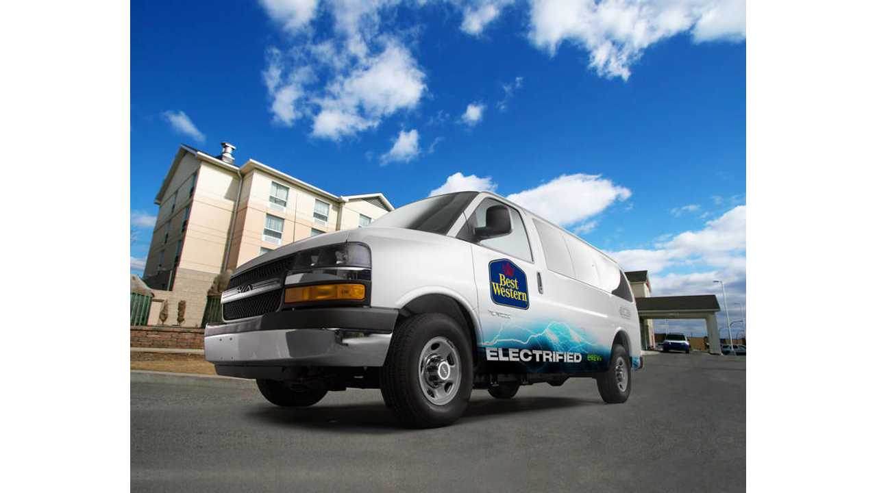 VIA Motors Inks $80 Million Deal to Supply Sun Country / Best Western Hotels With 1,000 Plug-In Shuttle Vans