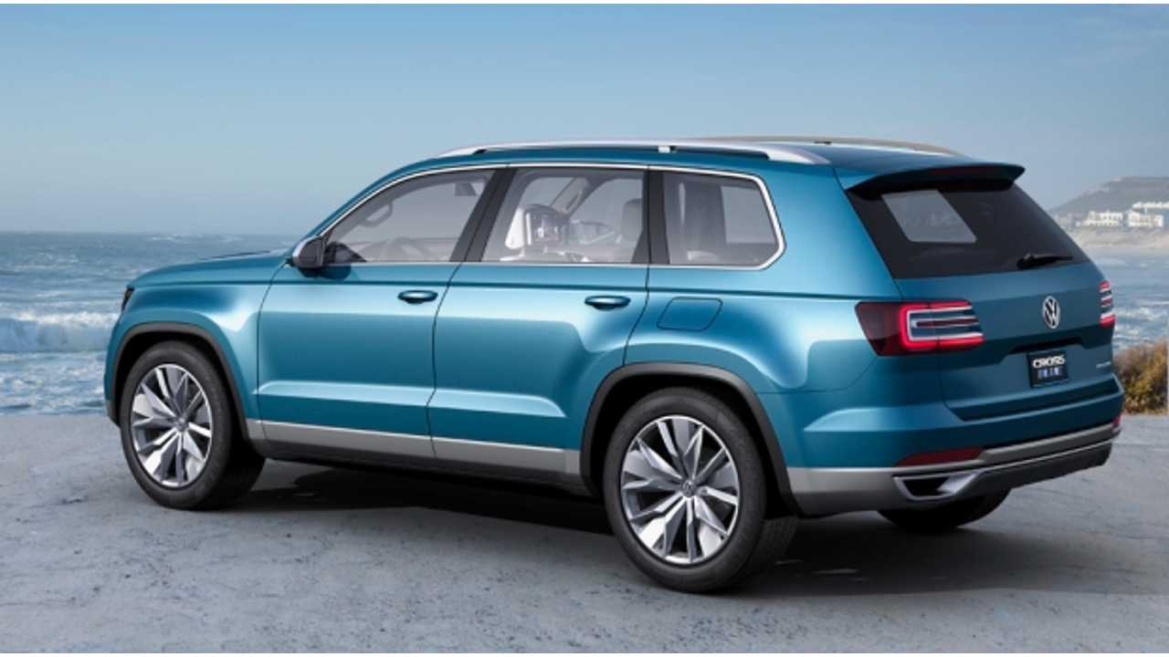 Vw Estimates A 14 Mile Range And 89 Mpge Rating Out Of Its Awd Suv