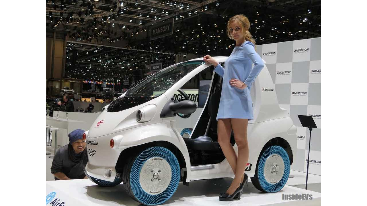 If You're Going to Present Airless Tire Tech in Geneva, This Is How You Do It