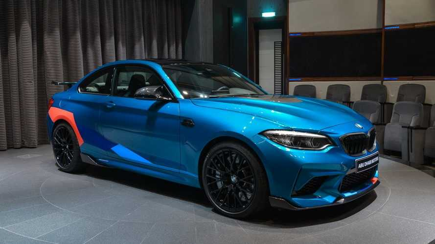 Este BMW M2 Competition es simplemente irresistible