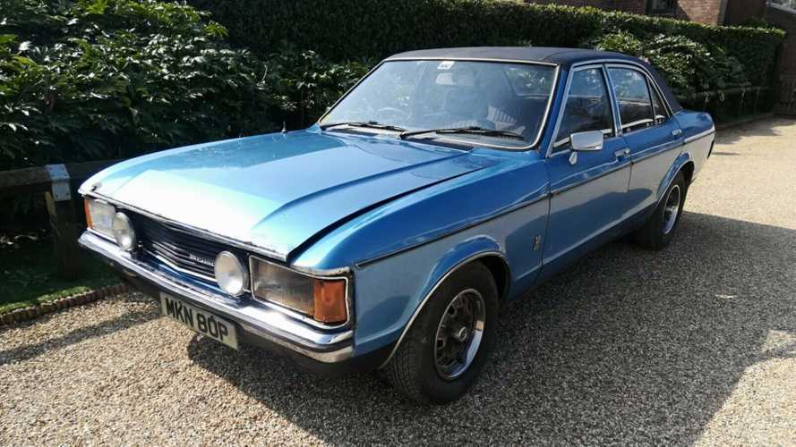 Relive The Sweeney With This 1976 Ford Granada S Barn Find!