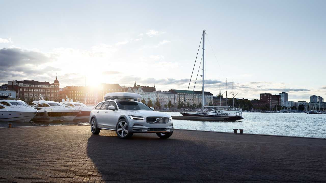 Volvo V90 вездеход Volvo Ocean Race