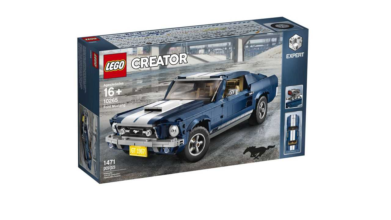 Lego Unveils 1960s Ford Mustang Creator Set