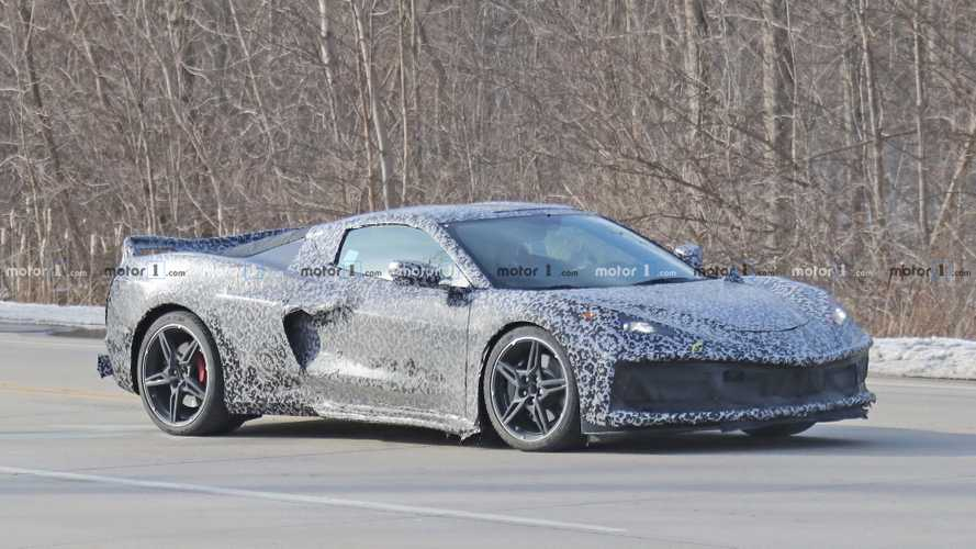 2020 Corvette à moteur central photos espions