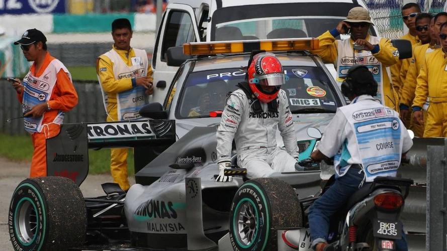 Rivals still rate struggling Schumacher