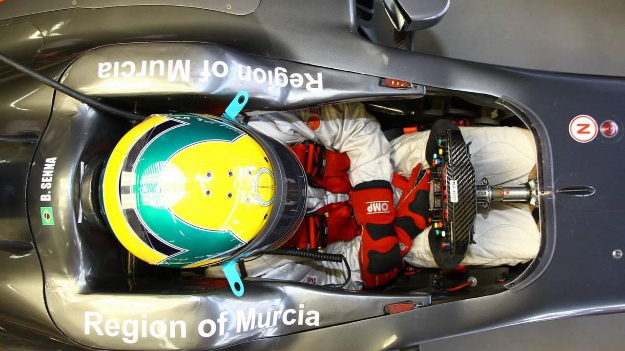 Bruno Senna (BRA), Hispania Racing F1 Team, HRT - Formula 1 World Championship, Rd 18, Brazilian Grand Prix, 05.11.2010 Sao Paulo, Brazil
