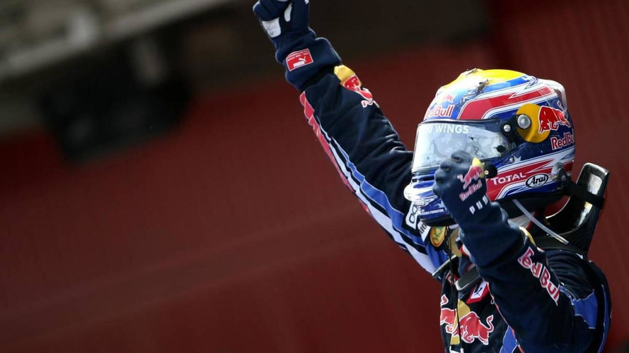 Webber threw helmet into crowd after Spain win