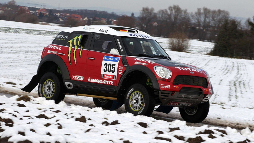 MINI ALL4 Countryman Dakar challenger revealed