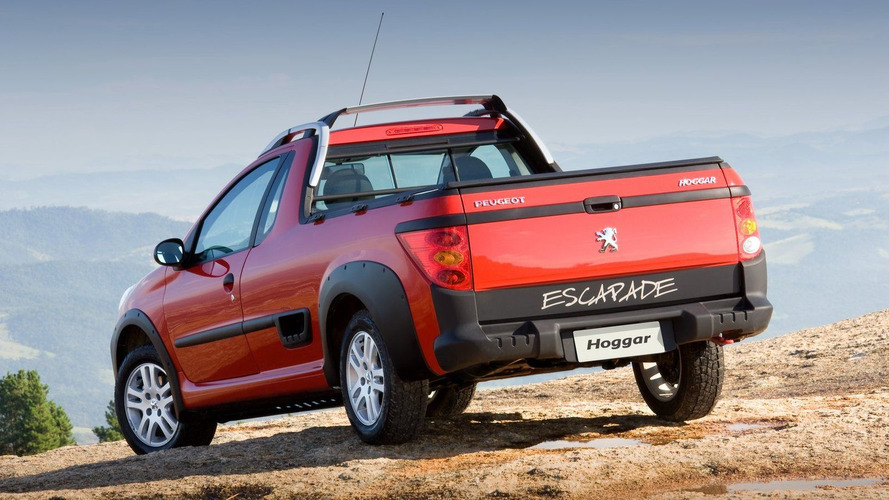 2011 Peugeot Hoggar 207 Based Pick-Up Revealed for Brazil
