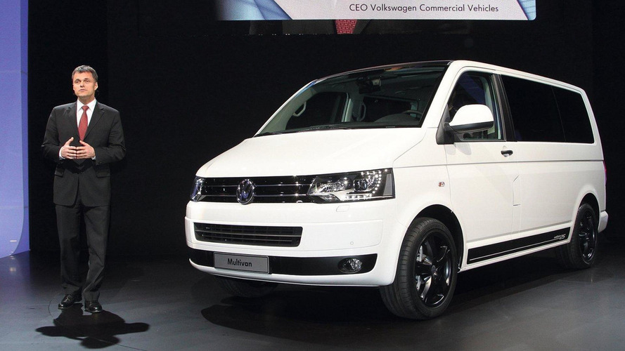 Volkswagen Multivan BlueMotion and Edition 25 premiere in Geneva