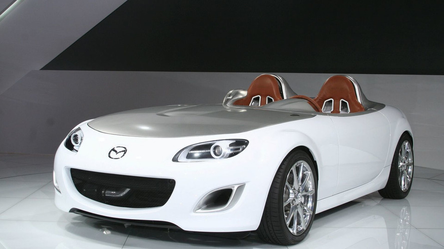 Mazda MX-5 Superlight Concept at Frankfurt