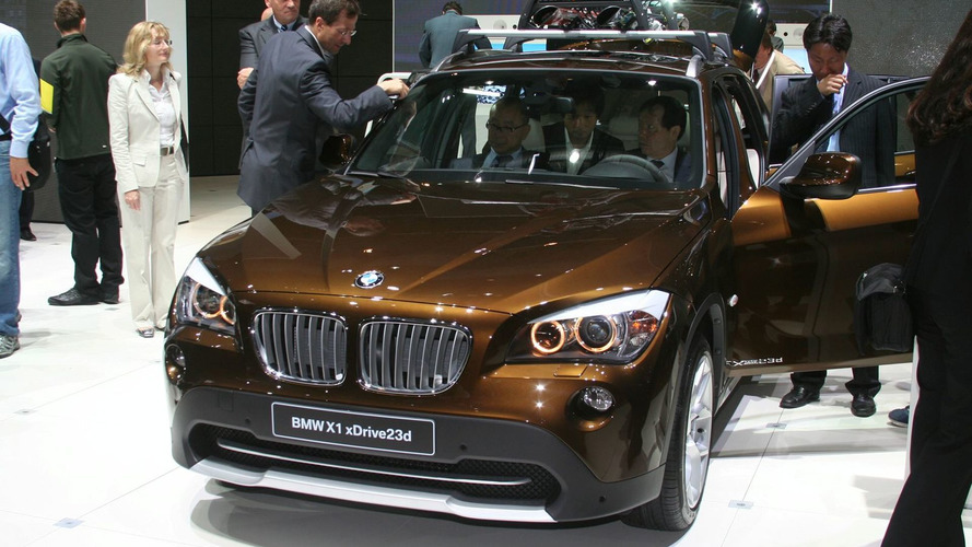 BMW X1 Debuts in Frankfurt [video]