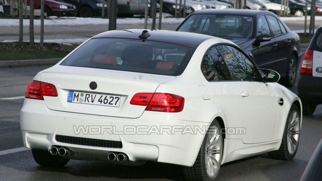 2011 BMW M3 facelift spy photo - 04.02.2010
