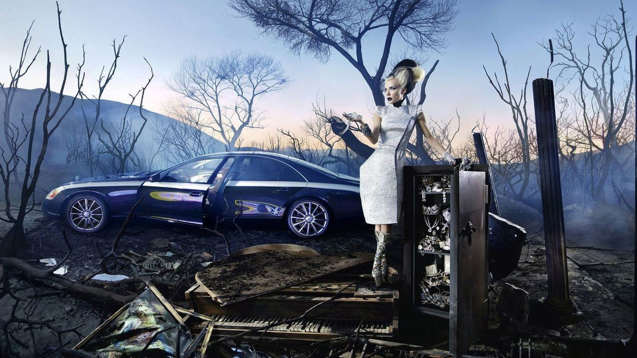 David LaChapelle portrays Maybach - Making Of