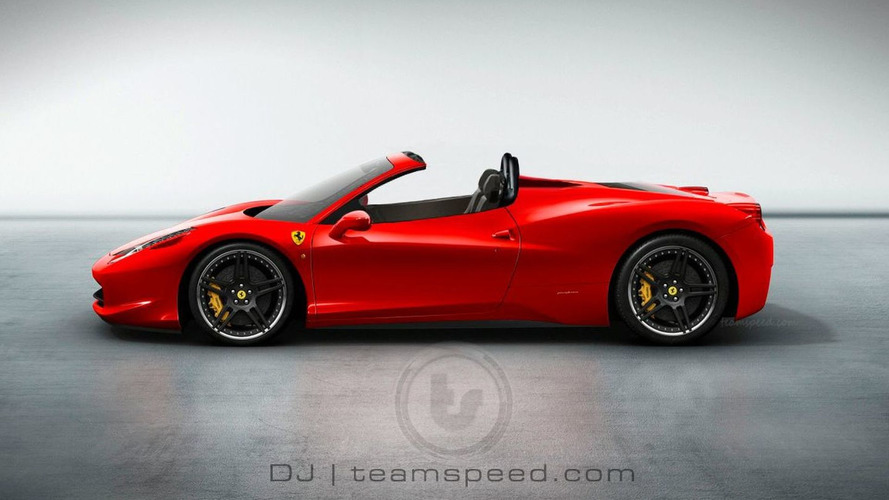 Rendered Speculation: More Ferrari 458 Italia Spider