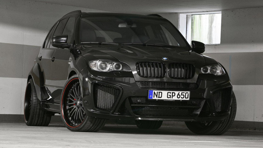 G-POWER X5 M TYPHOON revised upwards to 725 hp