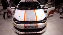 Volkswagen Polo Cup Mk5 race car live at 2010 New Delhi Auto Expo - 1200 - 05.01.2010