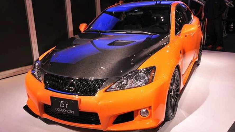 Lexus IS-F Circuit Club Sport Concept Debuts at Tokyo Auto Salon