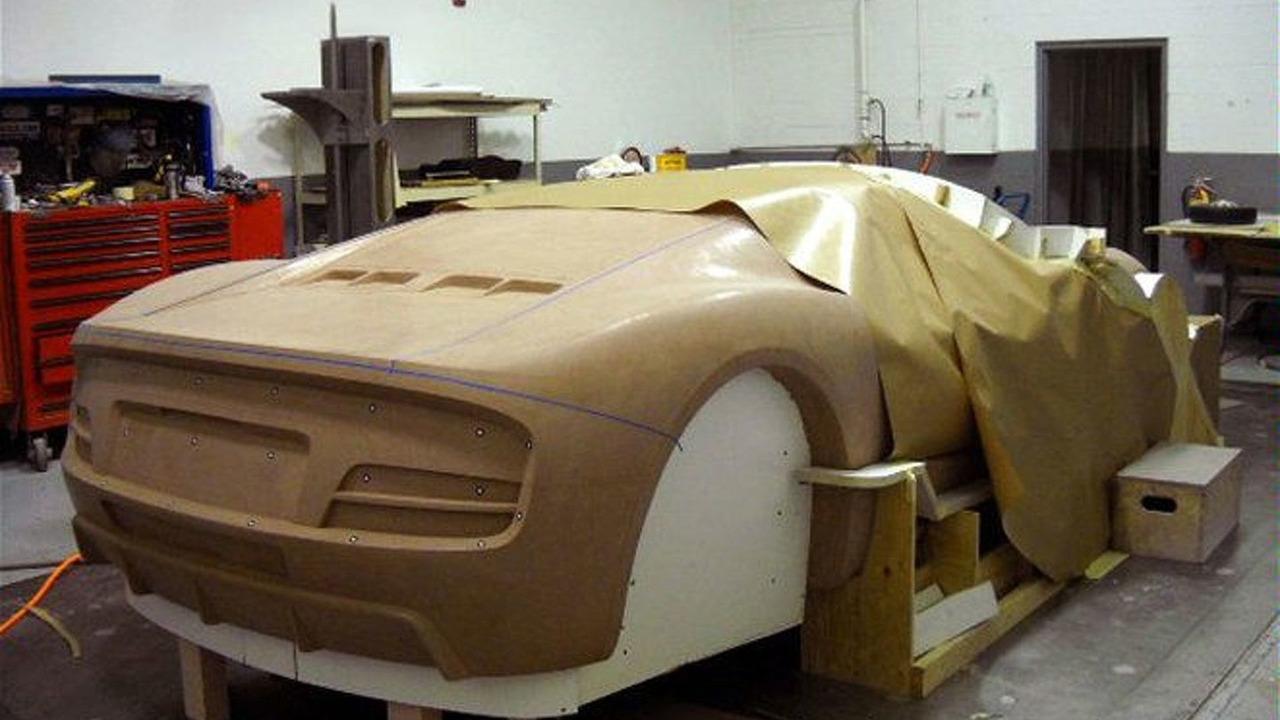 Revenge Designs Verde Supercar Concept clay model photo - 660