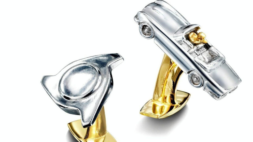 Prince of Wales' Aston Martin DB6 Volante Pistons Melted into Cufflinks for Charity
