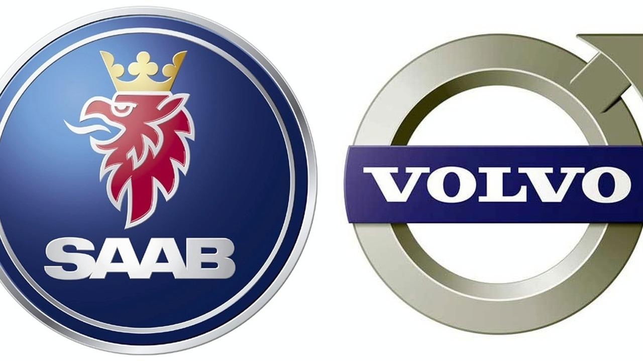 Saab Logo & Volvo Logo