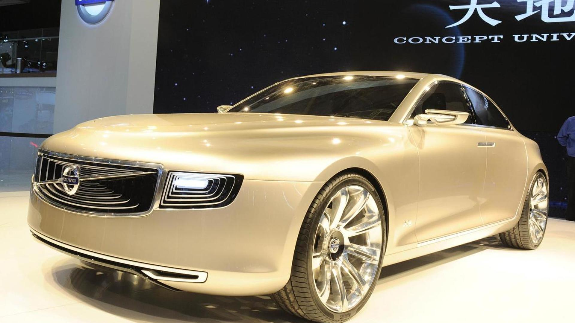 Volvo S90 Flagship Sedan Extensive Details Emerge Will Be Styled After Concept Universe