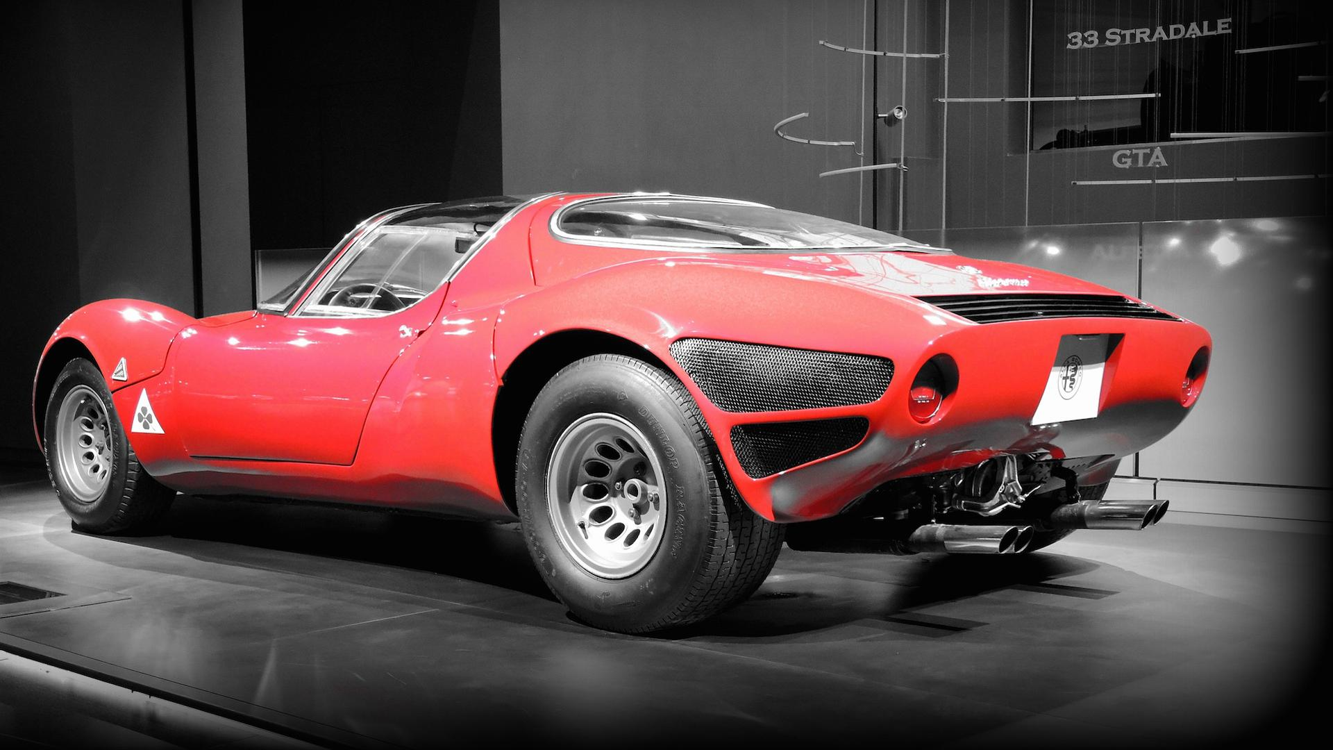 Rare Alfa Romeo Tipo 33 Stradale Sounds Great Looks Even Better