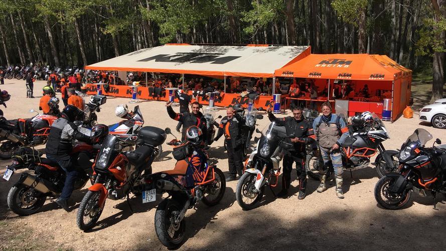 Reunión KTM Adventure España 2017