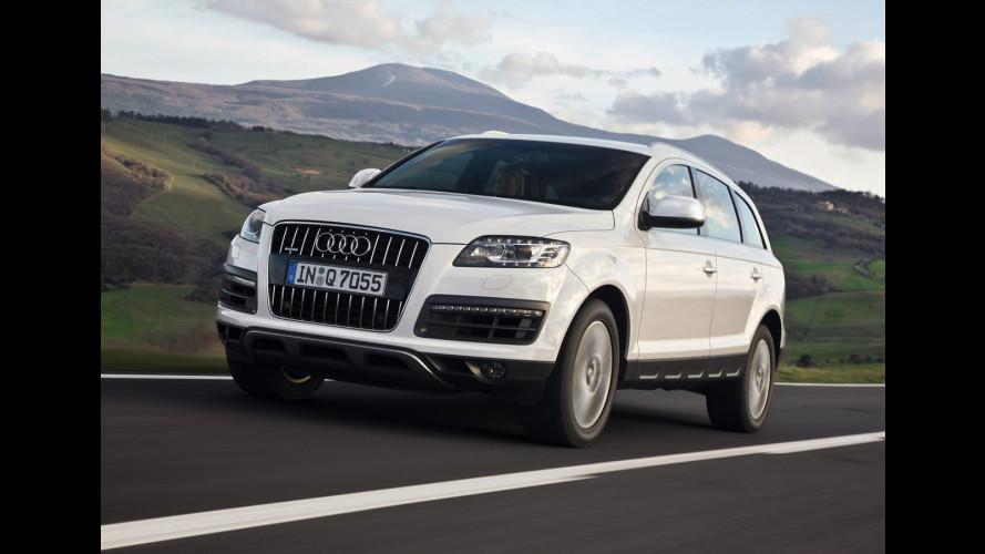 Audi Q7 restyling: i prezzi