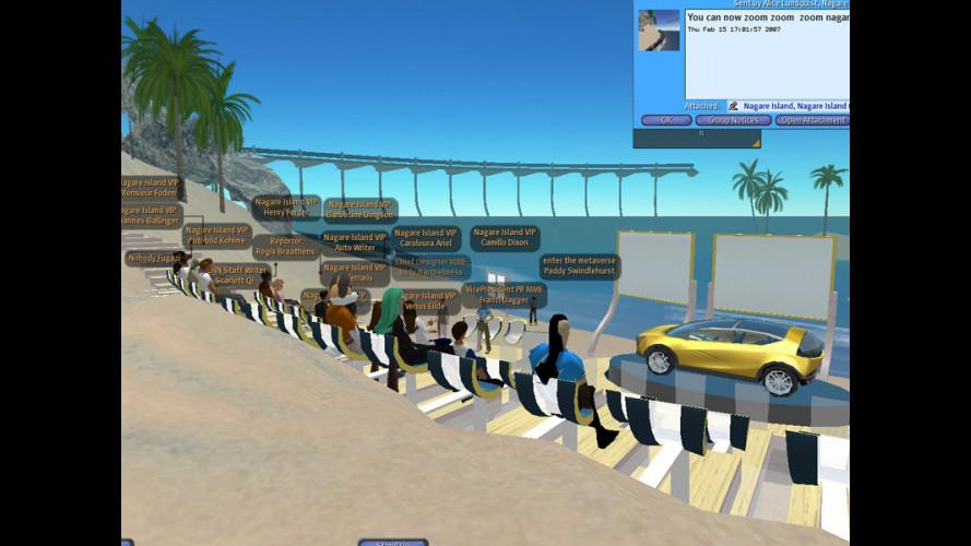 Mazda Hazake in anteprima virtuale su Second Life!