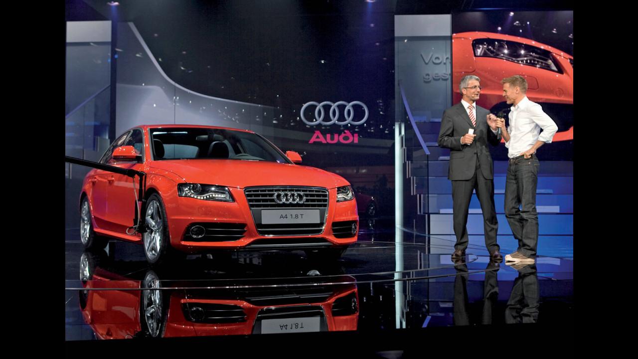 Bryan Adams battezza la nuova Audi A4
