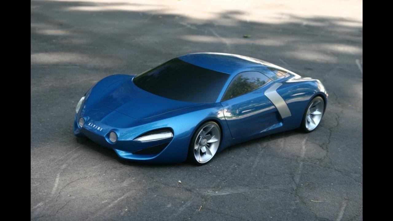 Renault Alpine maquette