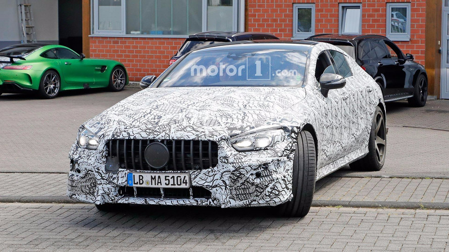 Mercedes-AMG Spied Testing Future Sedan With Less Camo