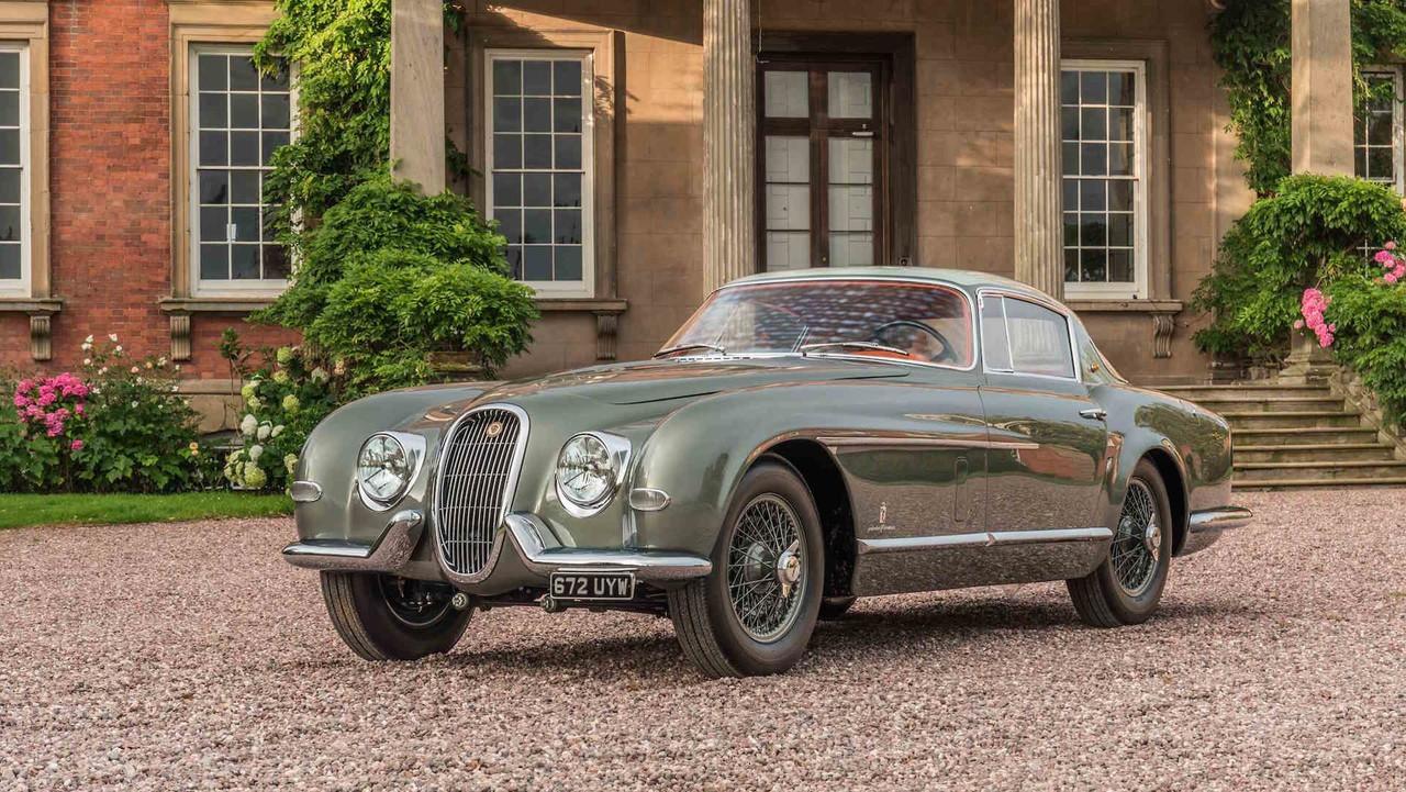 1954 Jaguar XK120 By Pininfarina