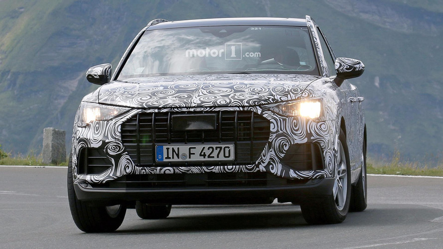 New 2019 Audi Q3 spy photos
