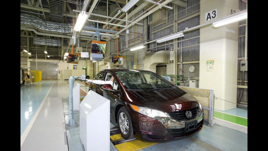 Honda FCX Clarity: 134 cavalli e zero emissioni