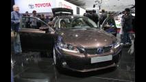 Lexus CT 200h al Salone di Parigi 2010
