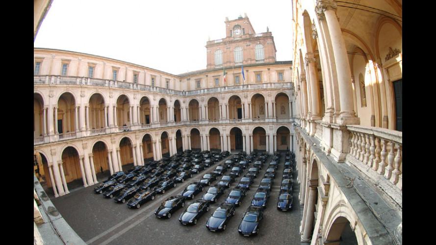 70 Maserati Quattroporte verso l'Europa!