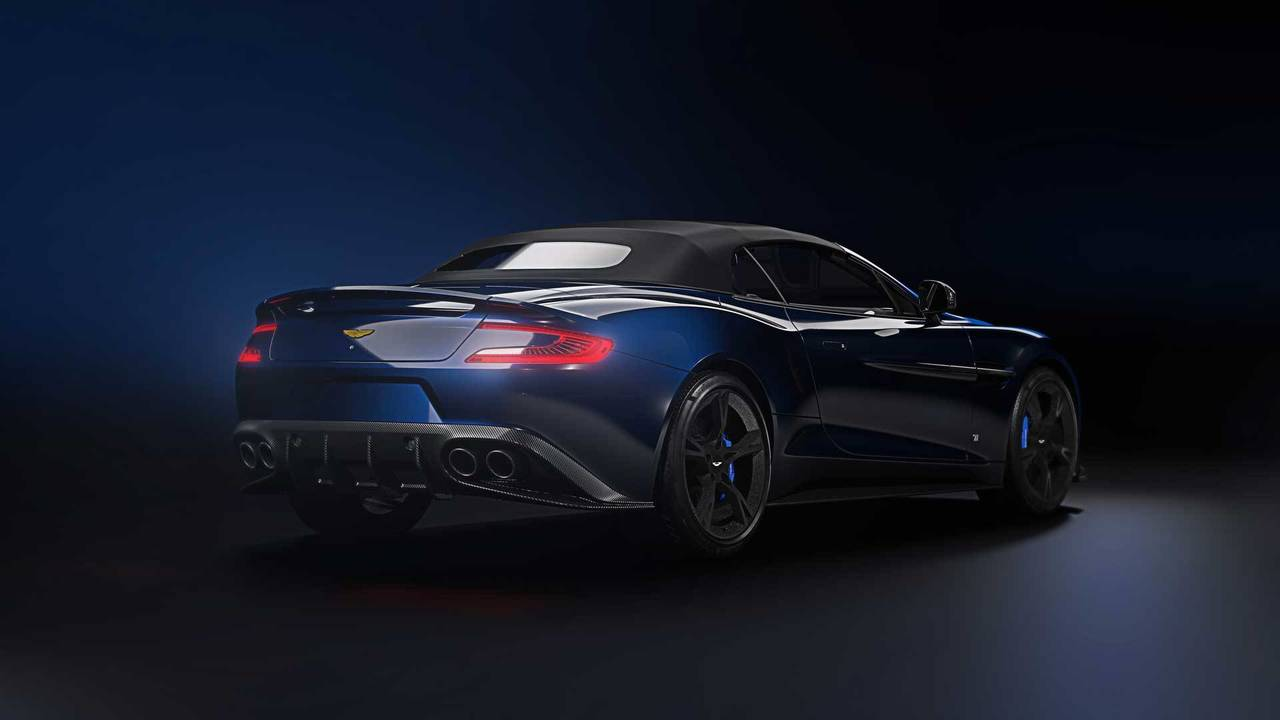 Aston Martin Vanquish S Tom Brady Signature Edition