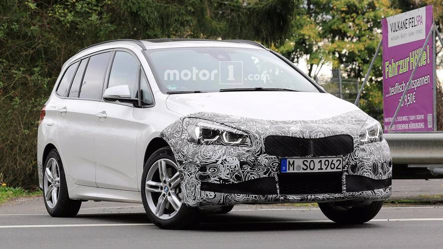 BMW Spied Testing Refreshed 2 Series Gran Tourer