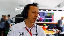 Yusuke Hasegawa, responsable de Honda en la F1