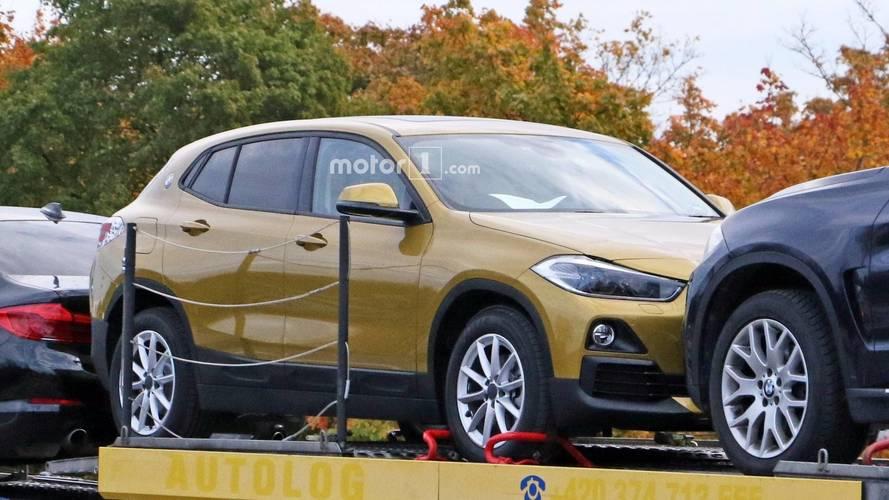 2018 BMW X2 neredeyse kamuflajsız yakalandı